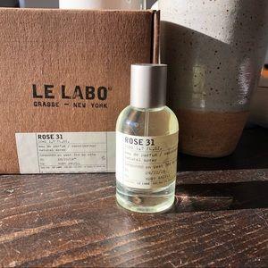 LE LABO / ROSE 31 eau de parfum
